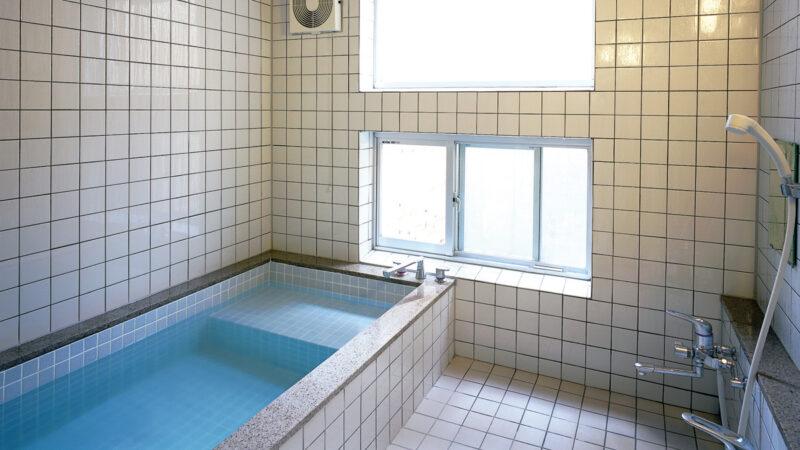 共同浴場(宇都宮ホステル)